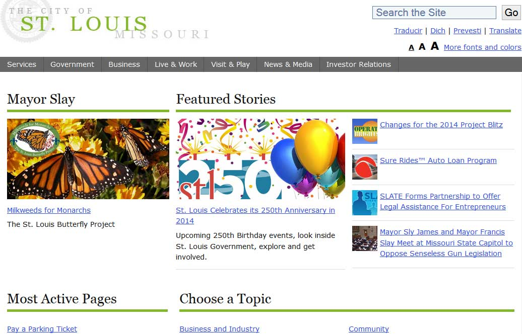 the-city-of-st-louis-missouri-website-page-1